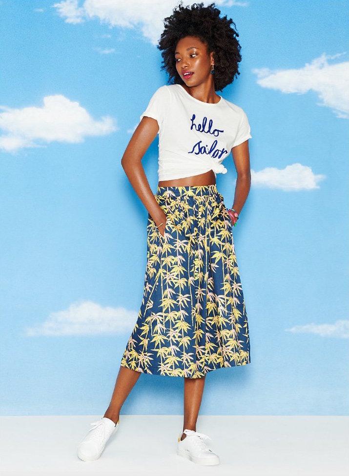 Sam & Lavi Allie Midi Skirt