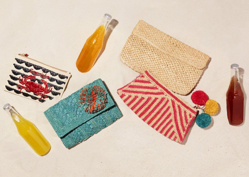 Serpui Marie Kim Seaside Clutch