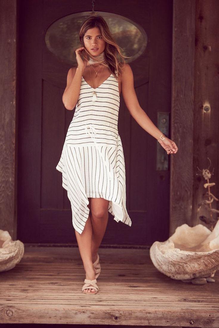 Shona Joy Arcus Drawstring Dress