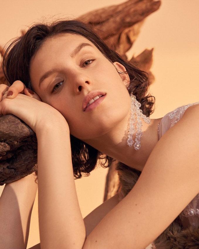 Simone Rocha Flower Earrings