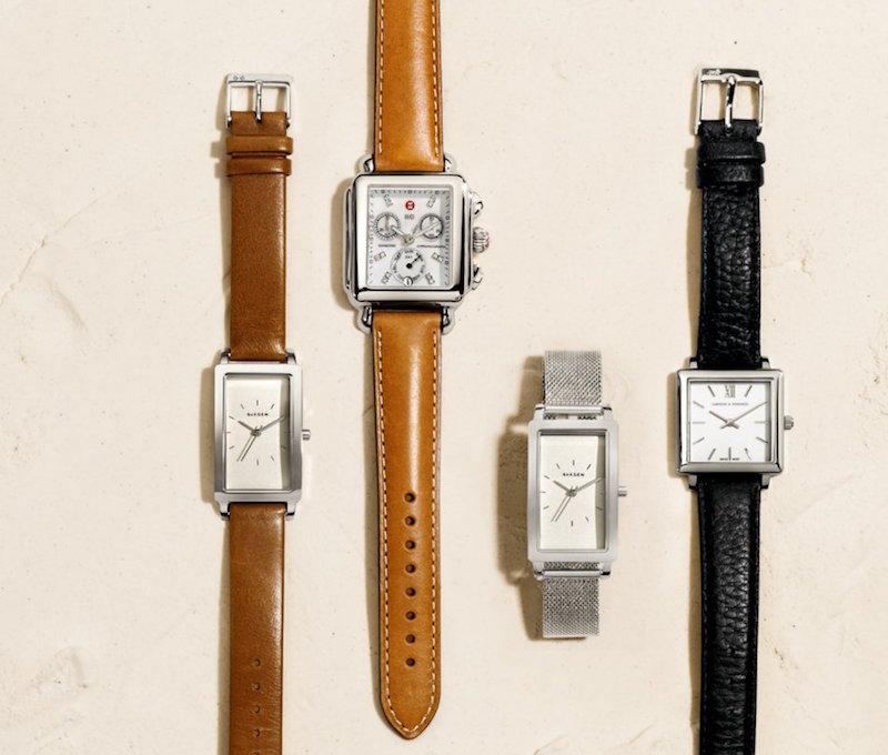 Skagen Hagen Leather Strap Watch
