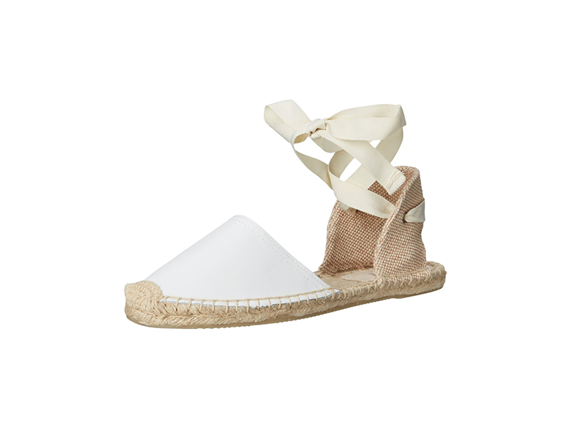 Soludos Classic Sandal Leather Espadrille Sandal