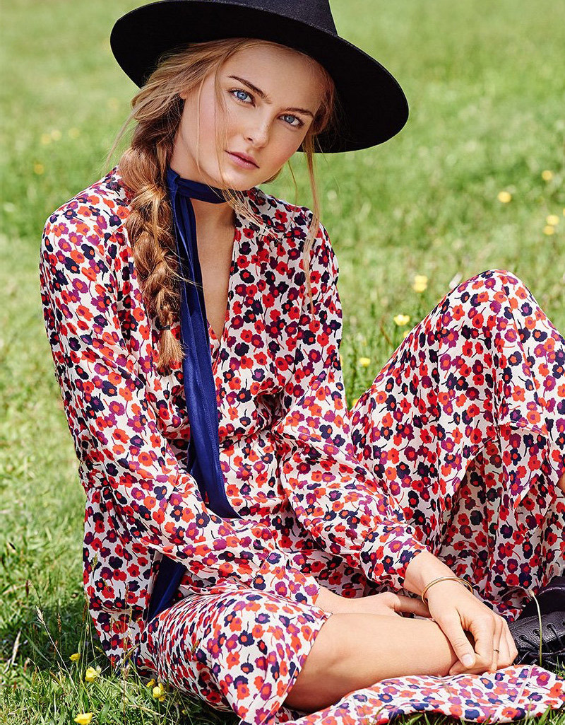 Sonia by Sonia Rykiel Floral Wrap Dress
