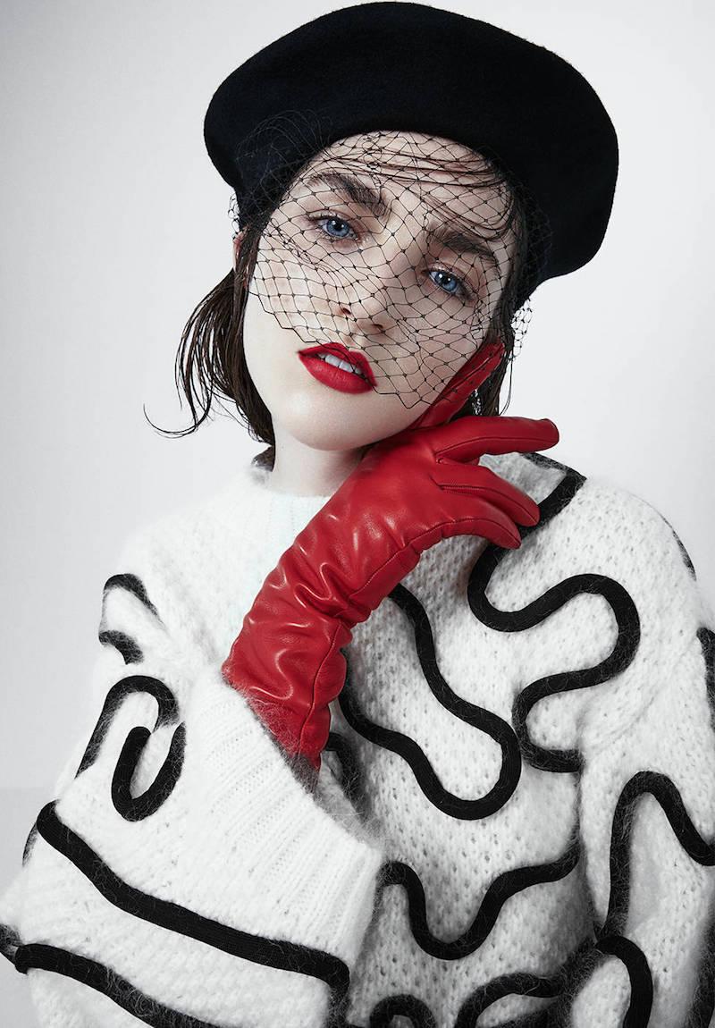 Sportmax Oversized Cotton & Alpaca Knit Sweater