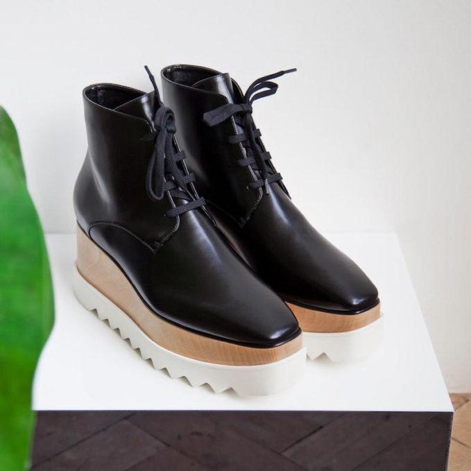 Stella McCartney Elyse Platform Ankle Boots