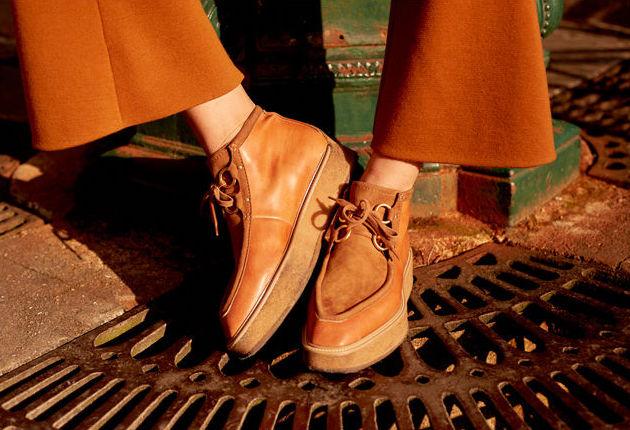 Stella McCartney Faux-Suede Clipper Boot