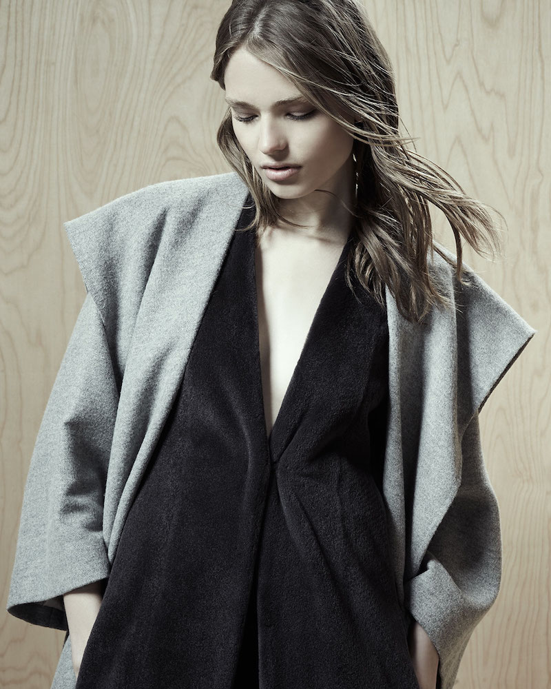 THE ROW Lanja Shawl-Collar Belted Coat