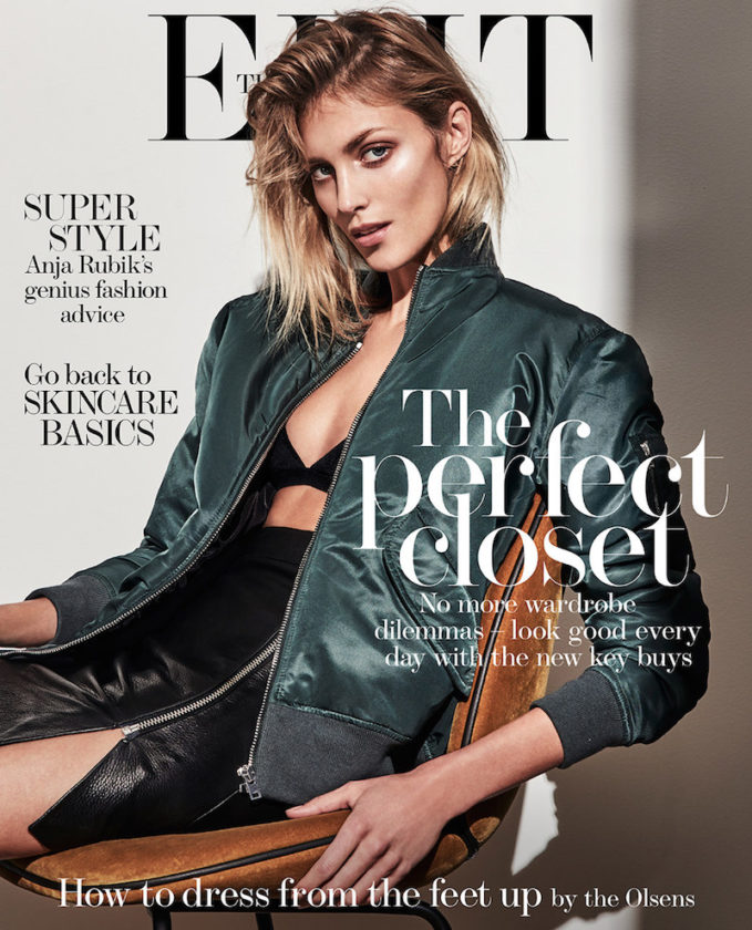 The Business Model: Anja Rubik for The EDIT