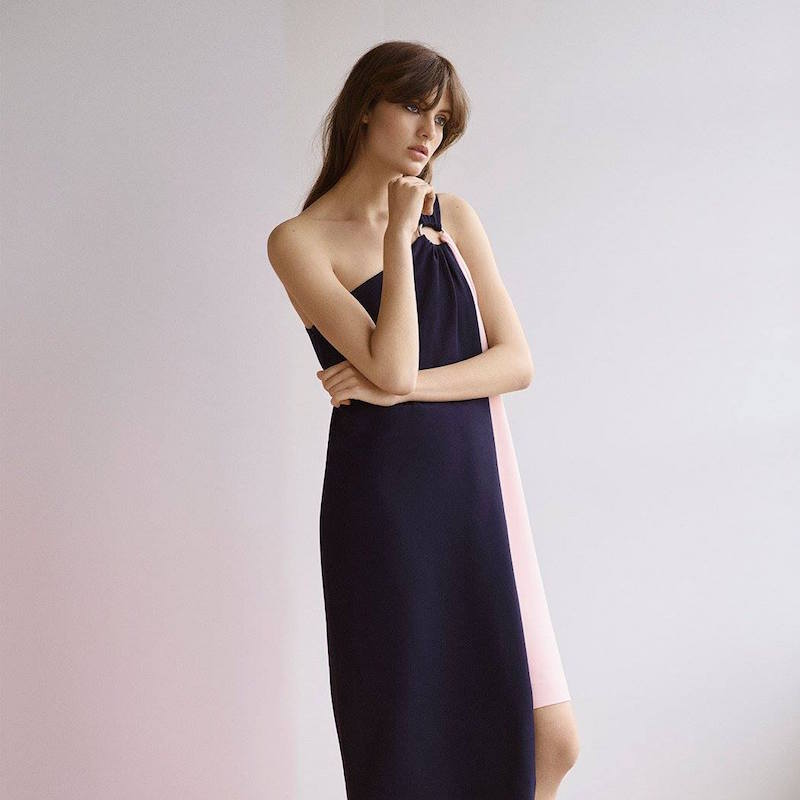 Topshop Boutique Asymmetric Ring Dress