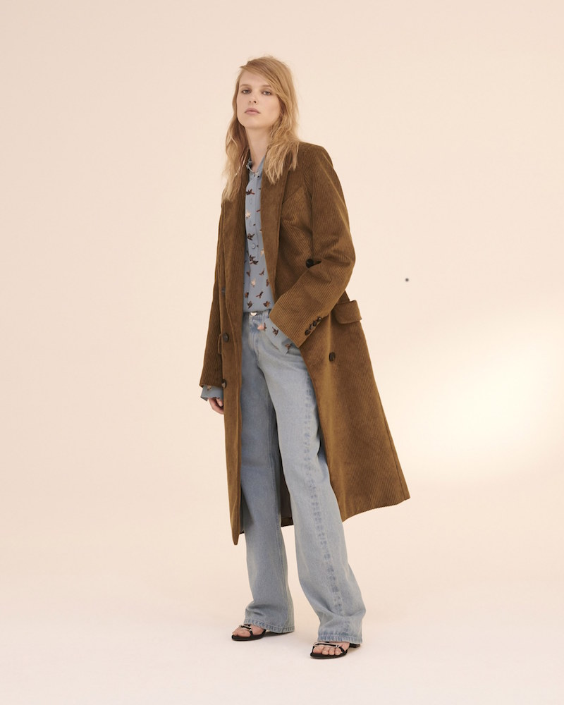 Topshop Unique Acrefield Coat