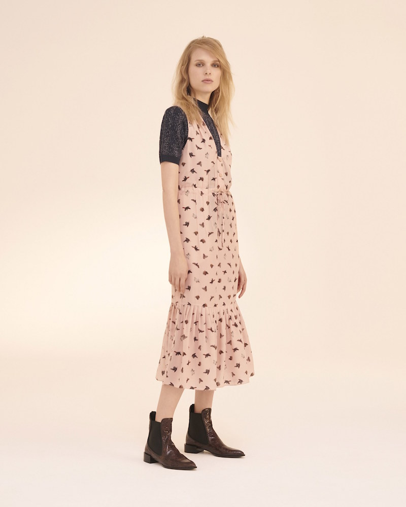 Topshop Unique Campion Midi Dress