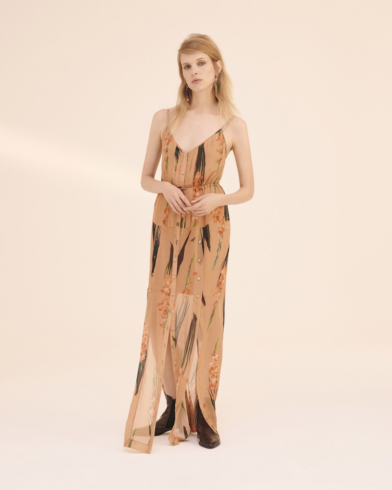 Topshop Unique Selwyn Maxi Dress