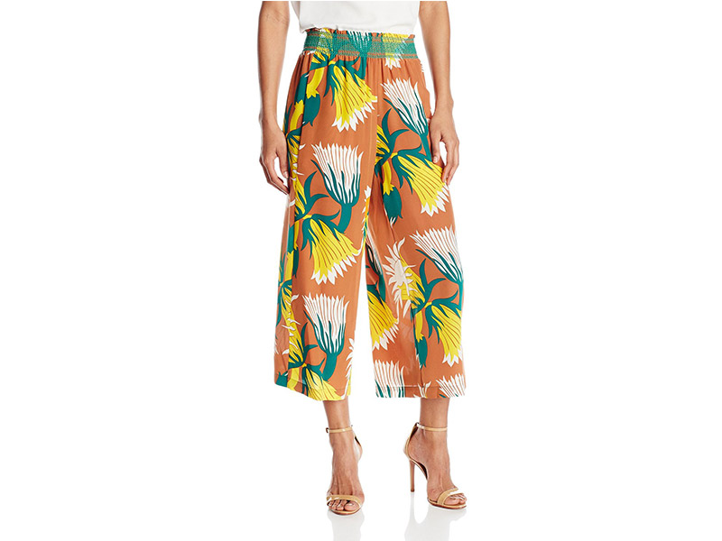 Tracy Reese Smocked Culotte