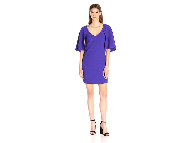 Trina Turk Maren Classic Crepe Short Sleeve Dress
