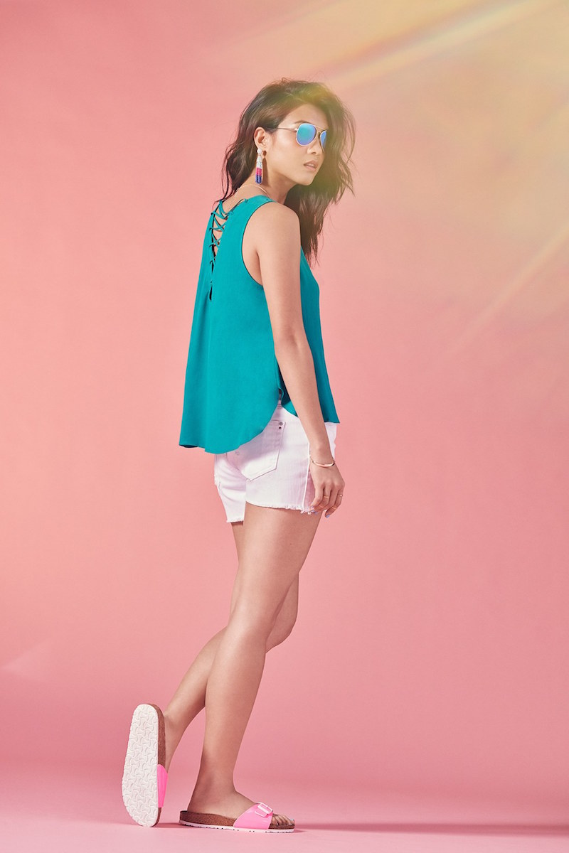 Vigoss Cutoff Denim Shorts