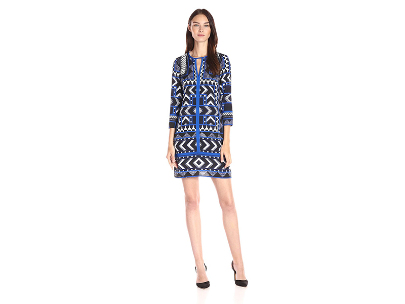 Vince Camuto Printed T-Body Dress