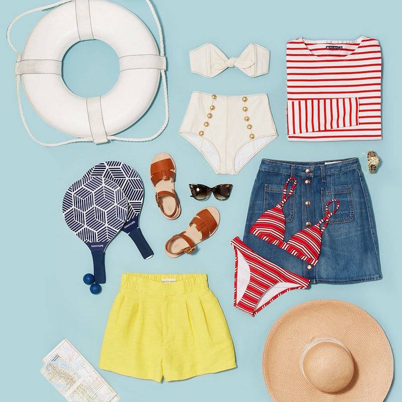 What to Pack for Vacation - Preppy Coast