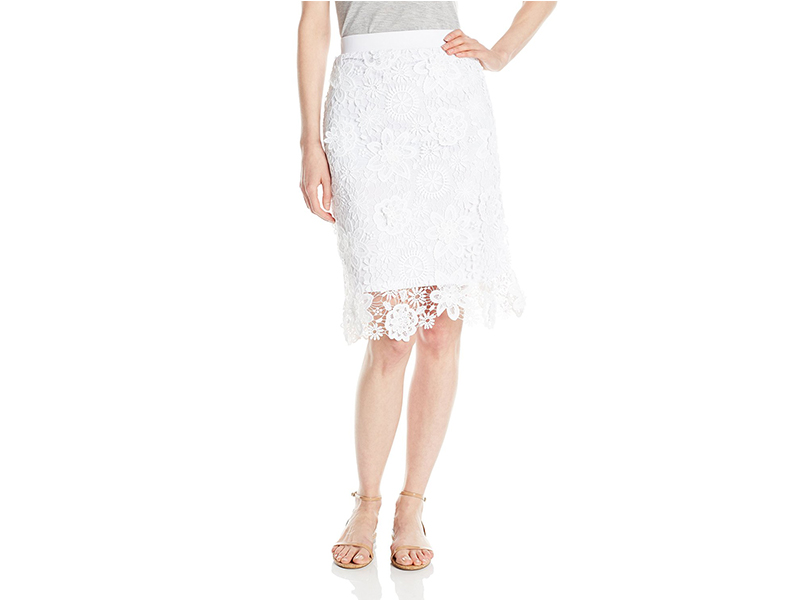 XOXO Crochet Lace Skirt