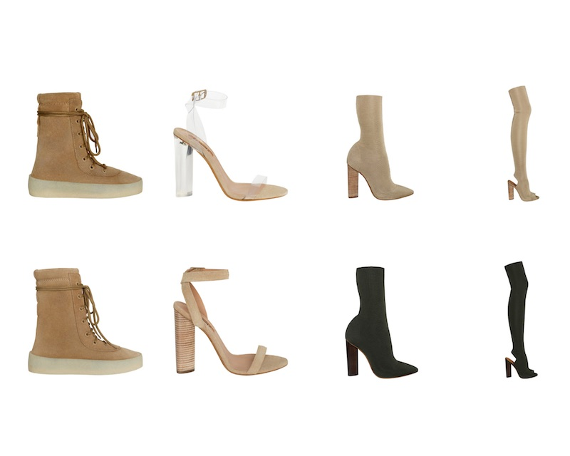 YEEZY Season 2 Shoes Collection
