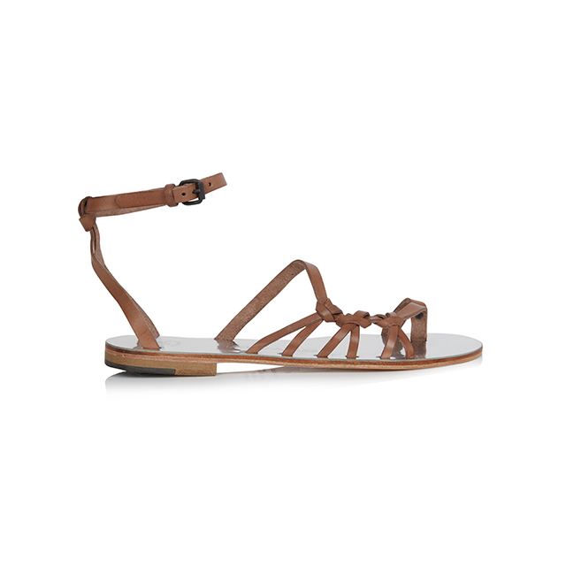 Álvaro Amor Leather Sandals