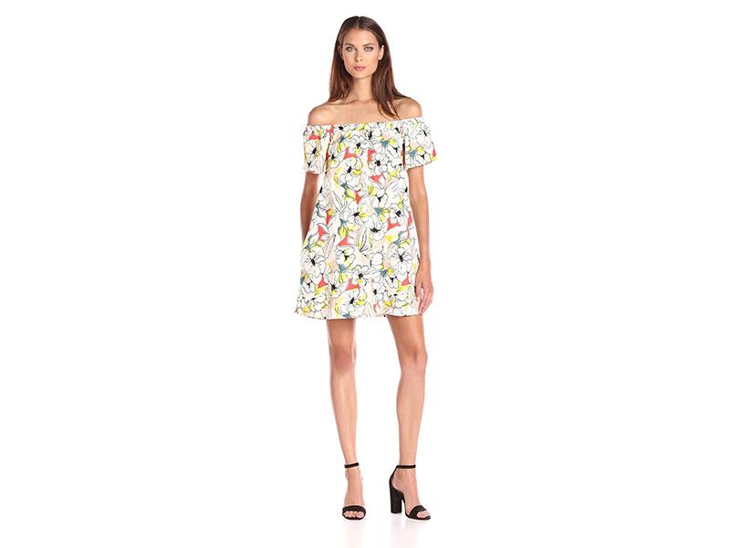 ASTR Valencia Off Shoulder Dress