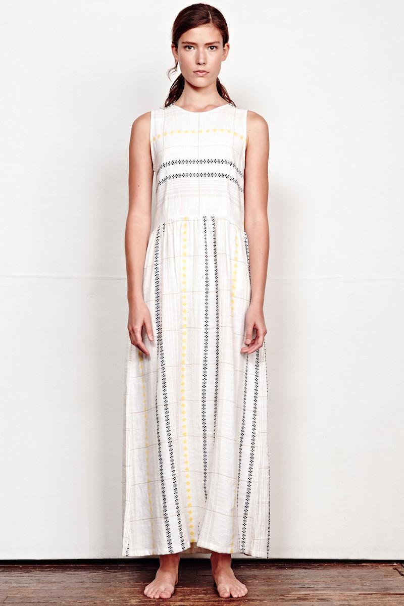 Ace & Jig Estate Sleeveless Woven Maxi Dress