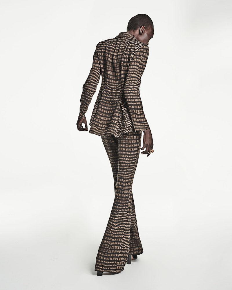 Akris Cheetah-Print Turtleneck Sweater