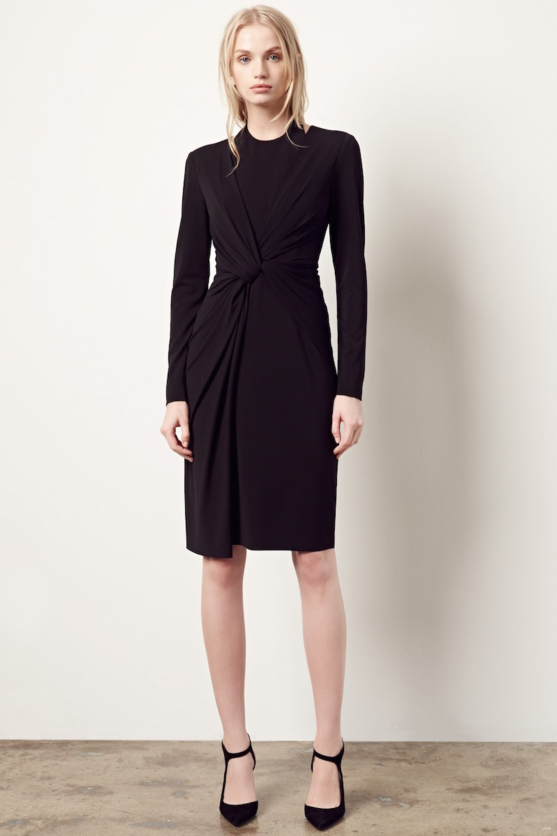 Alexander Wang Twist Front Jersey Dress
