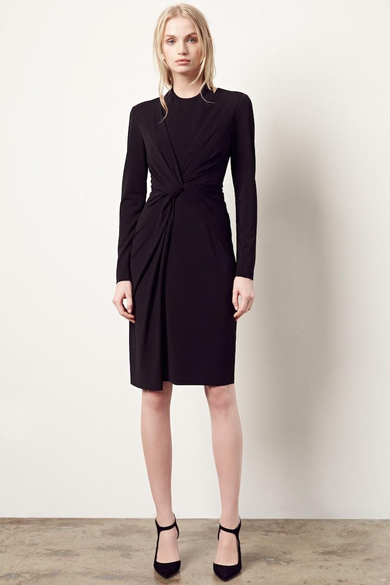 Alexander Wang Twist Front Jersey Dress