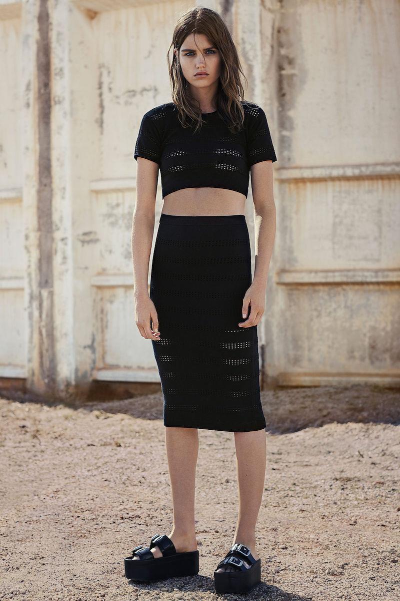 AllSaints Casto Skirt