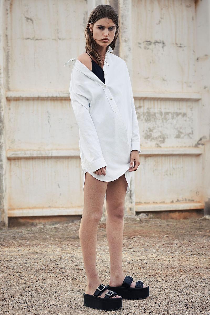 AllSaints Marlon Shirt Dress