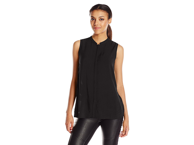 BCBGeneration Draped Back Button-Down Shirt