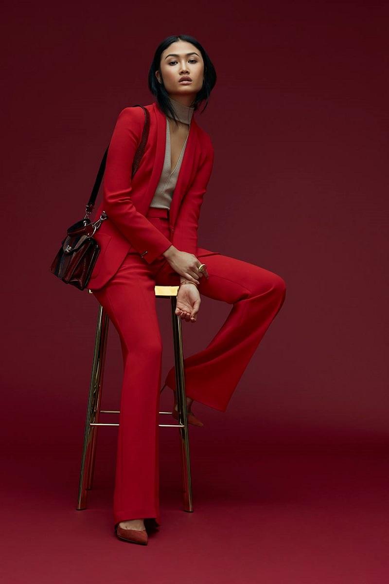 Barbara Bui Slim Lapel Classic Blazer