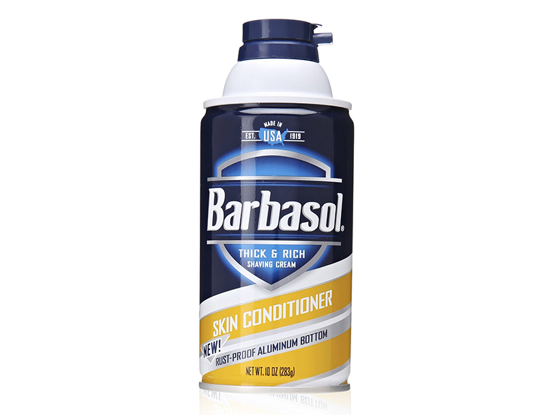 Barbasol Skin Conditioner Thick and Rich Shaving Cream