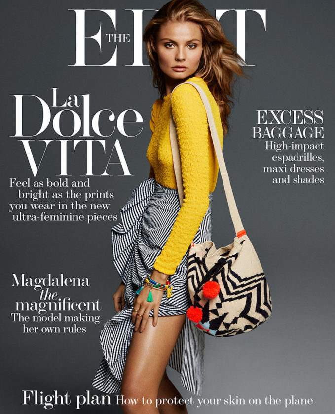 Bold & Beautiful: Magdalena Frackowiak for The EDIT