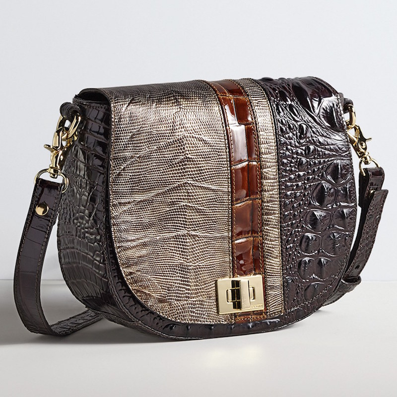 Brahmin Tillie Embossed Leather Crossbody Bag