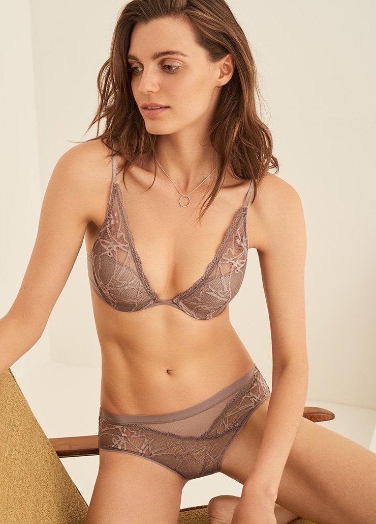 Calvin Klein Underwear Infuse Plunge Push Up Bra