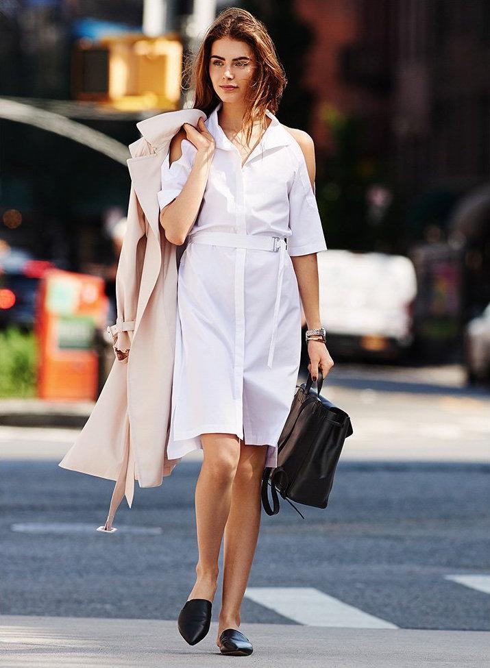 DKNY Cold Shoulder Dress