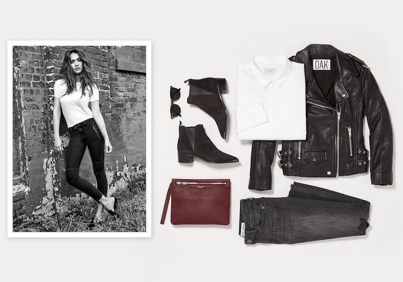 52485f083bc5 DL1961 x Jessica Alba No. 4 Instasculpt Cropped Moto Jeans