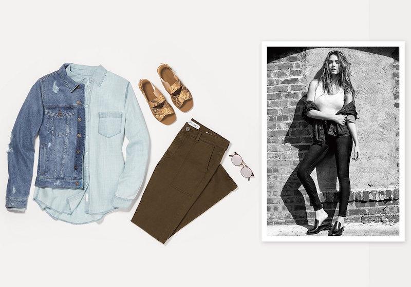 DL1961 x Jessica Alba No.1 Super Skinny Ultra High Rise Jeans