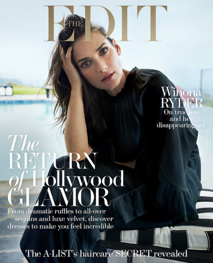 Eyes Wide Open: Winona Ryder for The EDIT