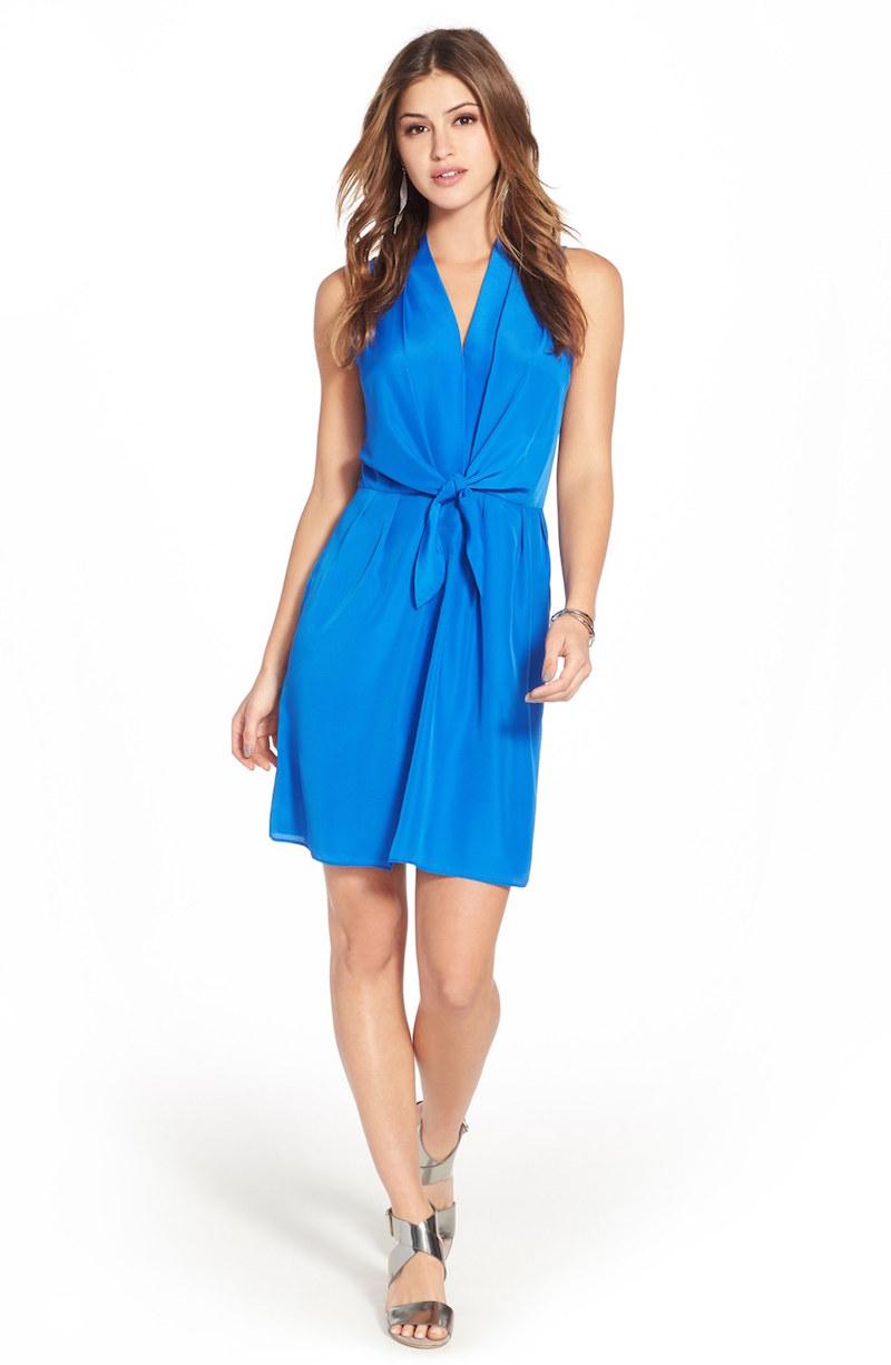 FELICITY & COCO Tie Front Dress