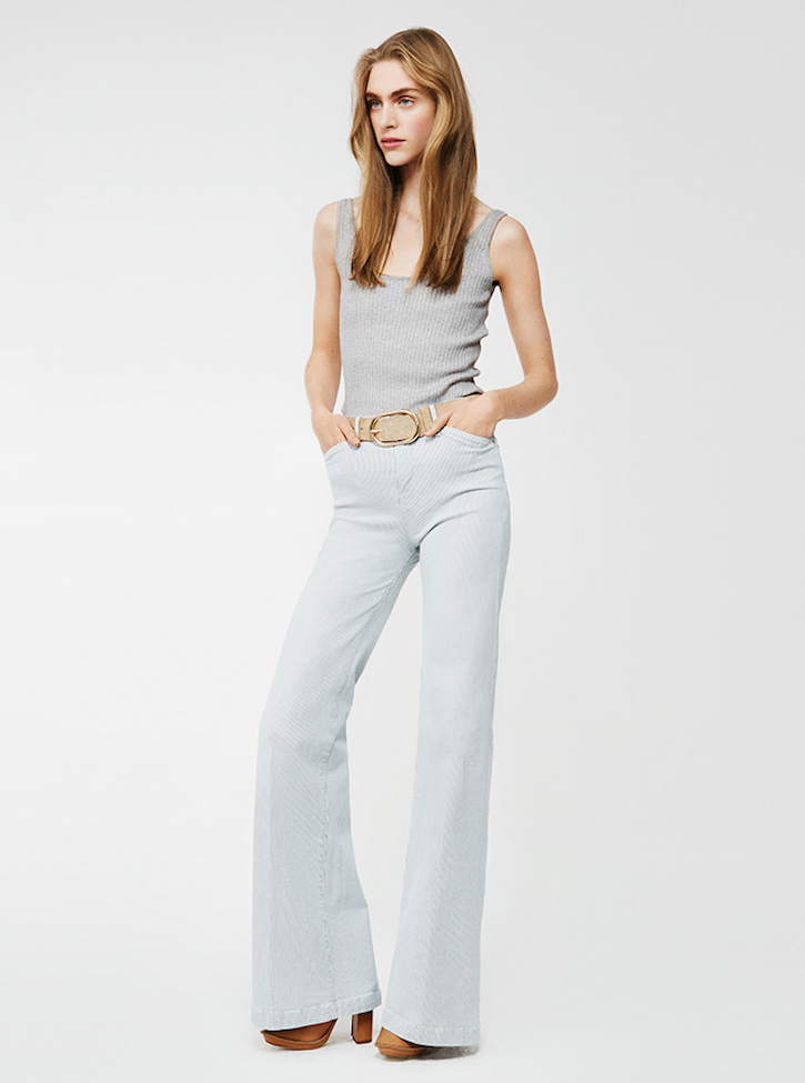 Frame Denim San Simion High-rise Wide-leg Jeans