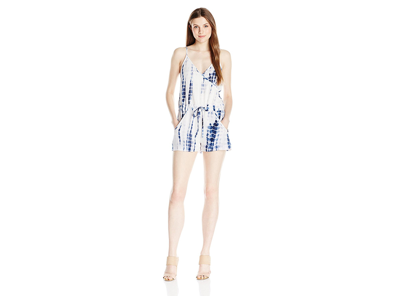 French Connection Holiday Wave Romper