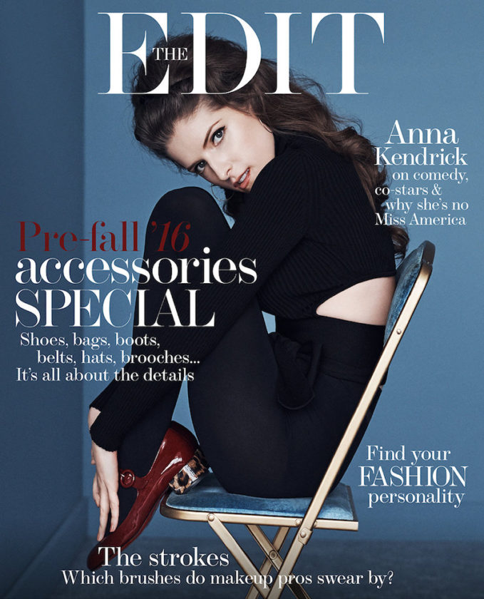 Funny Girl: Anna Kendrick for The EDIT