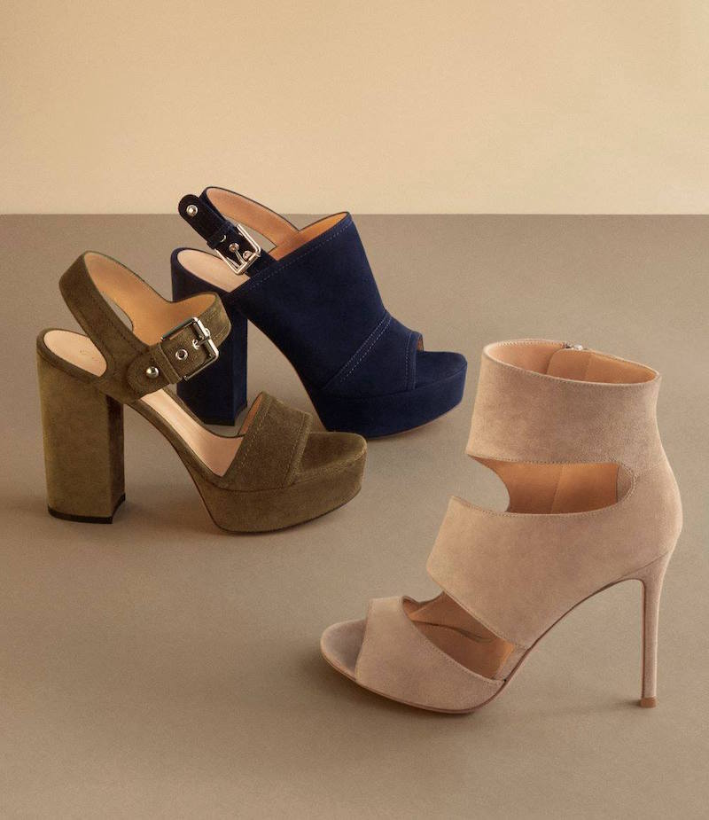 Gianvito Rossi Gina Platform Sandals