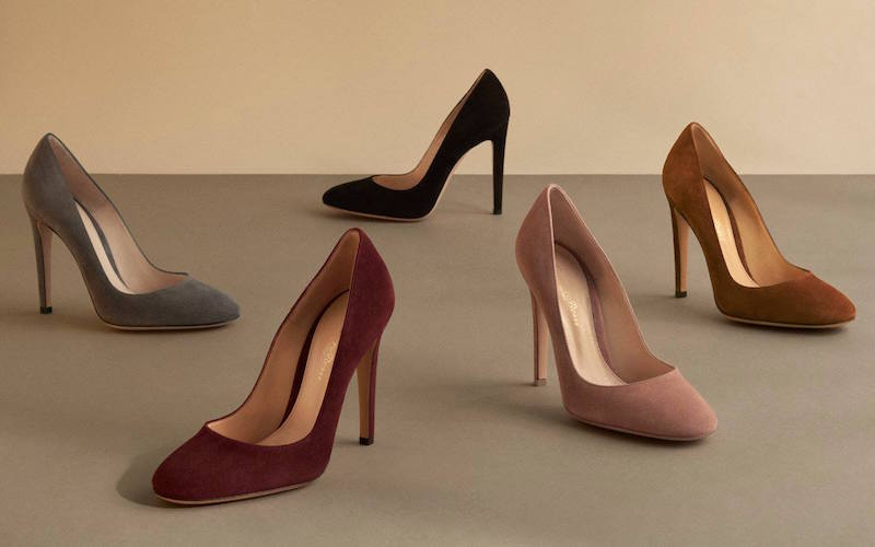 Gianvito Rossi Roma Round-Toe Pumps