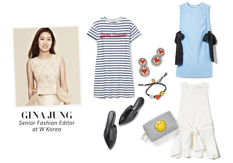 Gina Jung Pack for Vacation