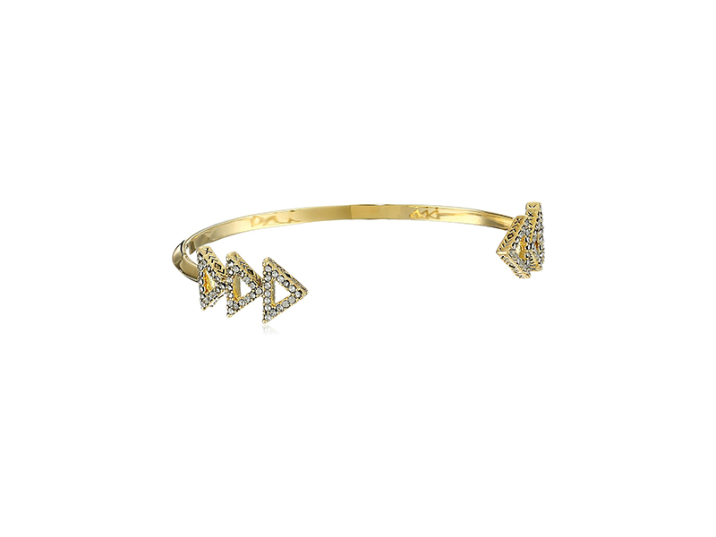 House of Harlow 1960 Gold Tessellation Cuff Bracelet