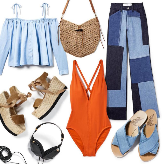 How Fashion Editors Pack for Vacation